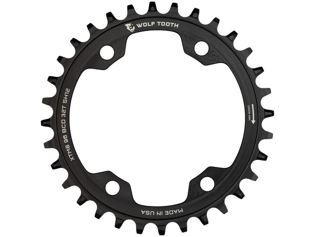Wolf Tooth Chainring Ø96mm BCD Shimano M8000 black